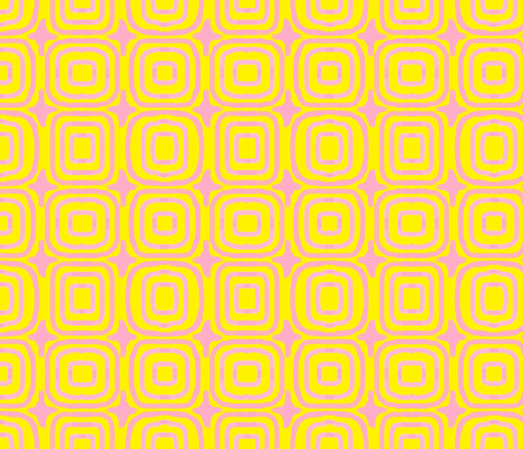pinky_yellow fabric by weebeastiecreations on Spoonflower - custom fabric