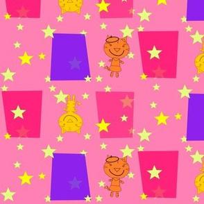 Bonjour Mod Tigers Pink