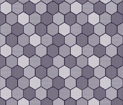 Joker Hex fabric by xxxvaderxxx on Spoonflower - custom fabric