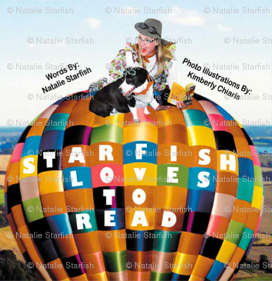 Starfish Loves to Read, Children's Book Cover
