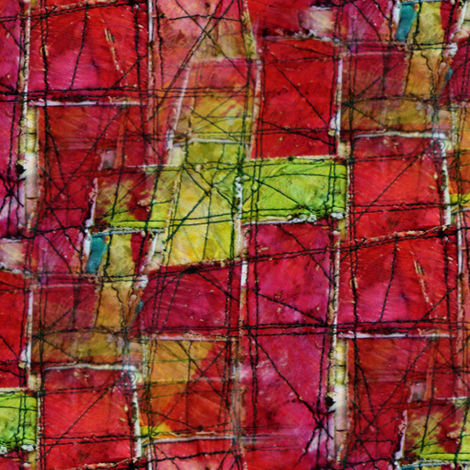 Urban Patchwork fabric by donna_kallner on Spoonflower - custom fabric
