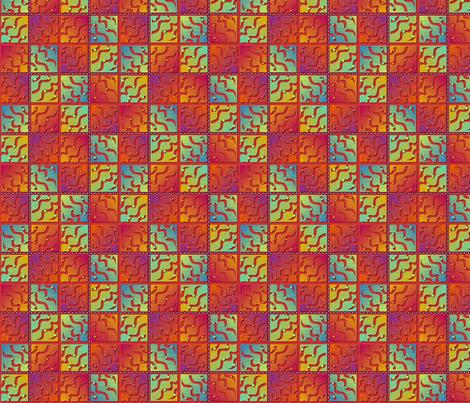 glowing_plaid fabric by glimmericks on Spoonflower - custom fabric