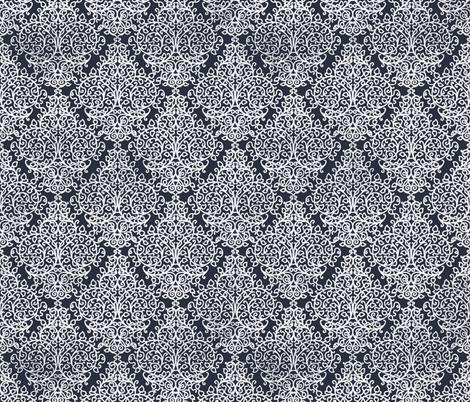 Marrakech Night navy fabric by flyingfish on Spoonflower - custom fabric