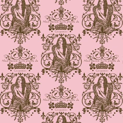 pink paris fabric by paragonstudios on Spoonflower - custom fabric