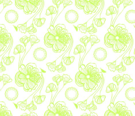 Sugar (green) fabric by pattern_bakery on Spoonflower - custom fabric