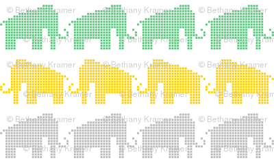 Woolly Mammoth Pixels