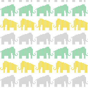 Woolly Mammoth Pixels