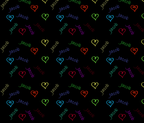 Jacob Love fabric by aftermyart on Spoonflower - custom fabric