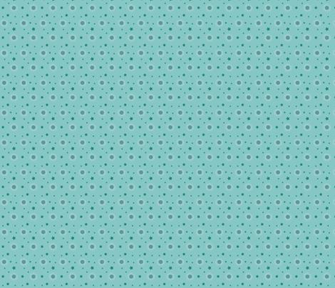 Stars in lagoon water fabric by kallou on Spoonflower - custom fabric