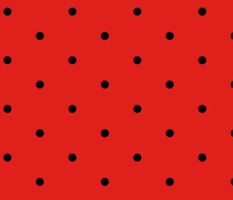 Hot Red Polka Dot Cocktail Dress Fabric Georgeandgracie