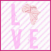 Africa Love Pink