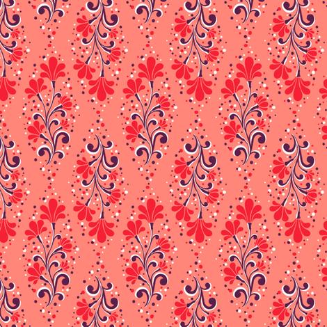 Calais - Flower fabric by siya on Spoonflower - custom fabric