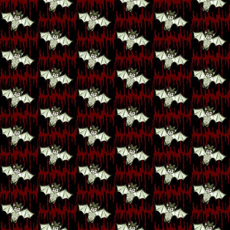 KimBat June 2012 ON Dripping Blood fabric by kimb_kreatures on Spoonflower - custom fabric