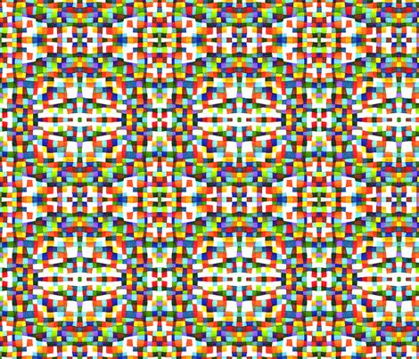 Kaleidescope 6 fabric by greennote on Spoonflower - custom fabric