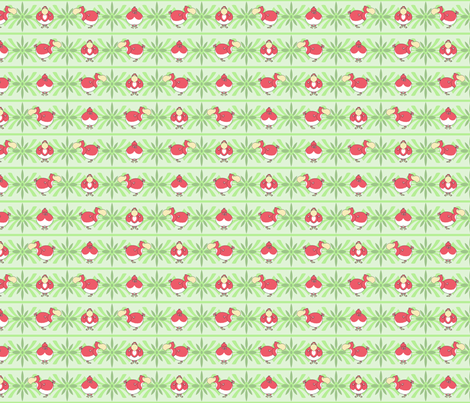 Dodo_Birds fabric by walkathon on Spoonflower - custom fabric