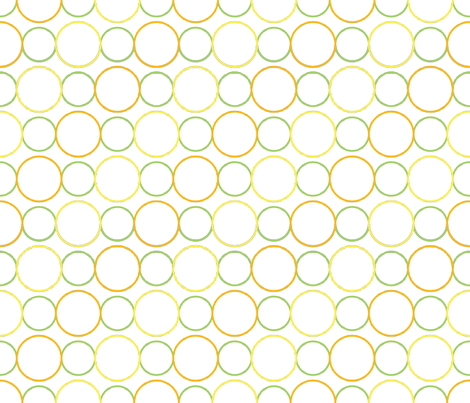 Citrus Circles fabric by jjtrends on Spoonflower - custom fabric
