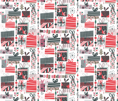 Presents fabric by demigoutte on Spoonflower - custom fabric