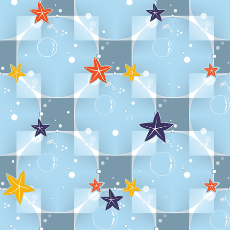 In the sea fabric by alfabesi on Spoonflower - custom fabric