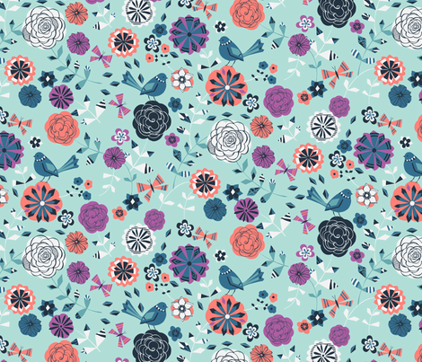 summer time fabric by bethan_janine on Spoonflower - custom fabric