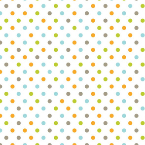 Polka Dots :: Multi-color