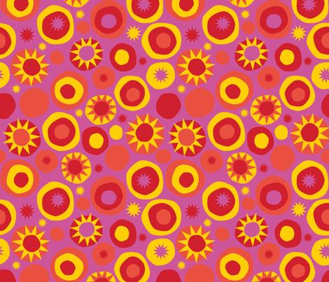 Sun Spots fabric by acbeilke on Spoonflower - custom fabric