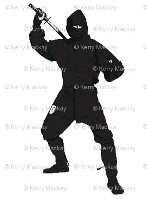 ninja b&w