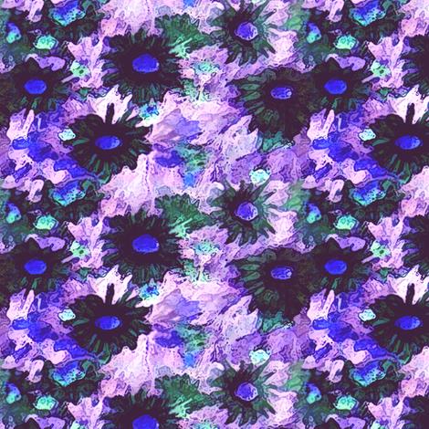 Vintage_Flowers_-_invert fabric by vargamari on Spoonflower - custom fabric
