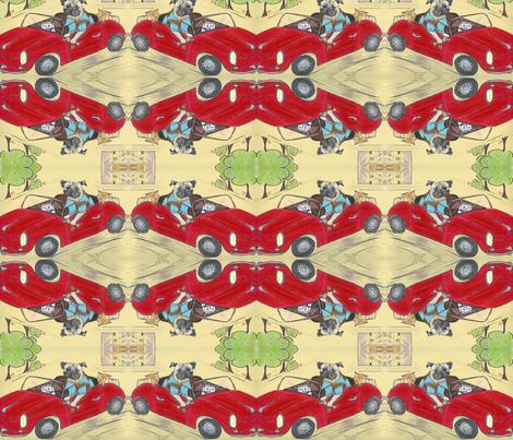quick trip fabric by cfishdesign on Spoonflower - custom fabric