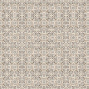 Driftwood plaid in shades of beige and greige