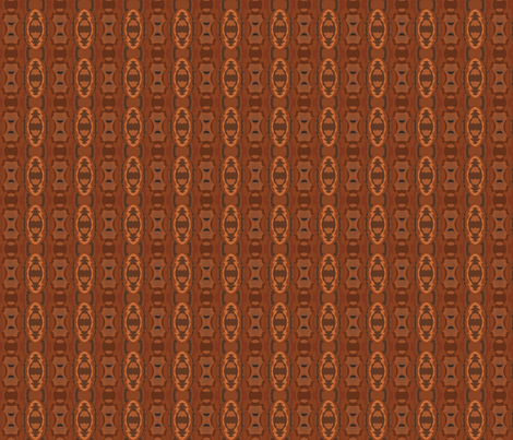 Southwestern Geometric in Brown 1 fabric by gingezel on Spoonflower - custom fabric