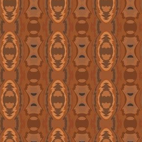 Southwestern Geometric in Brown 1