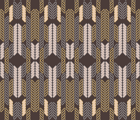 Feather Edge fabric by pearl&phire on Spoonflower - custom fabric