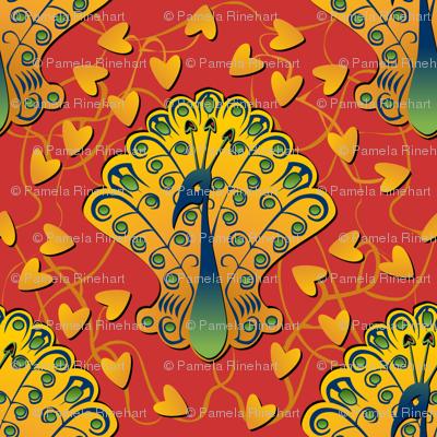 Gilded Peacock - Gypsy Fantasy