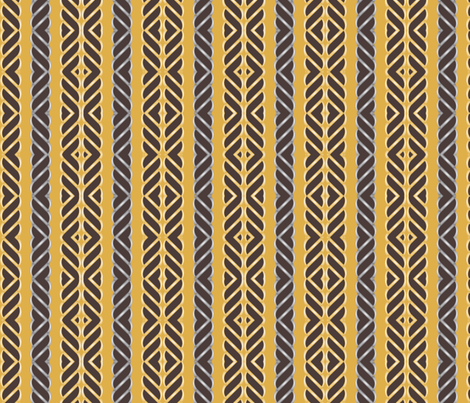Native Caramel fabric by pearl&phire on Spoonflower - custom fabric
