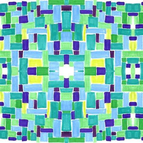 blue_basket_2 fabric by kcs on Spoonflower - custom fabric