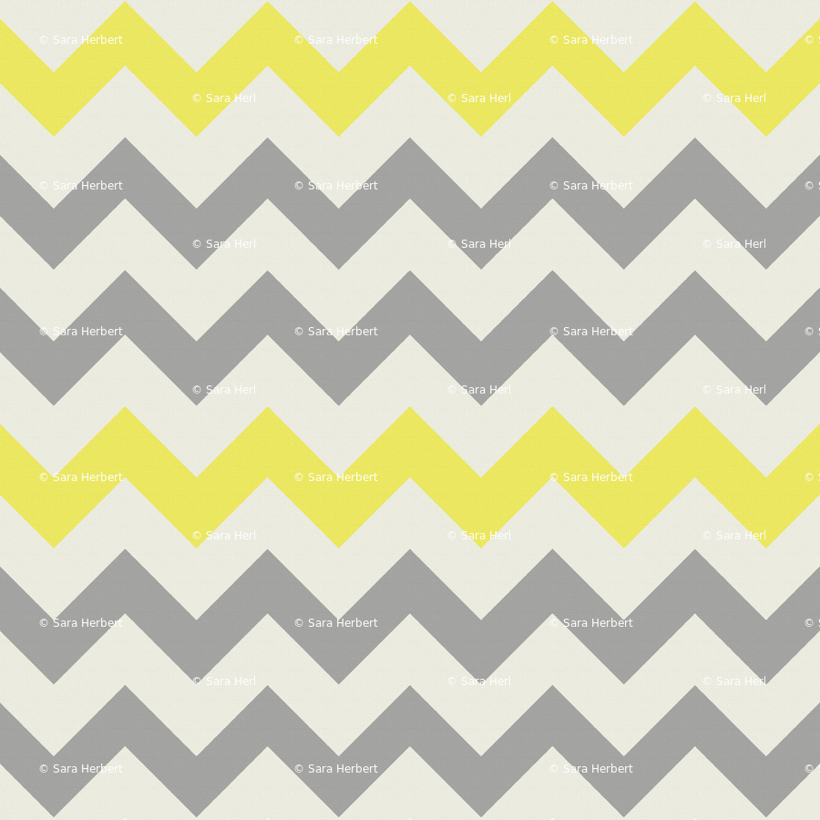 yellow and grey zig zag wallpaper