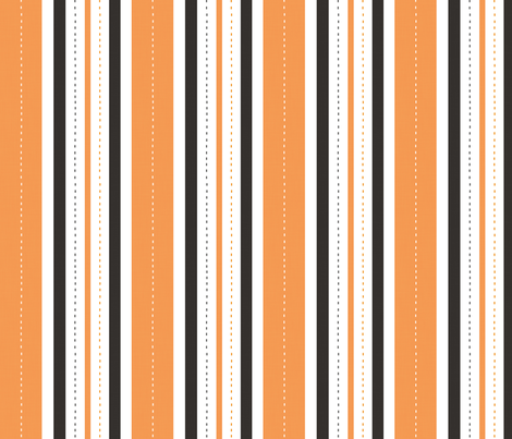 French Flower Shop Stripe (Halloween) fabric by lemoncurd on Spoonflower - custom fabric
