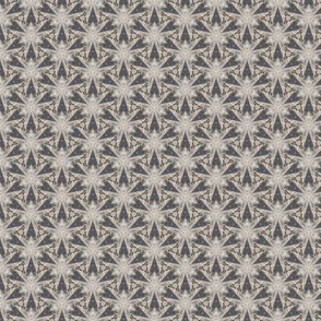 Driftwood VII -- Iron Angels in beige, taupe, and dark gray