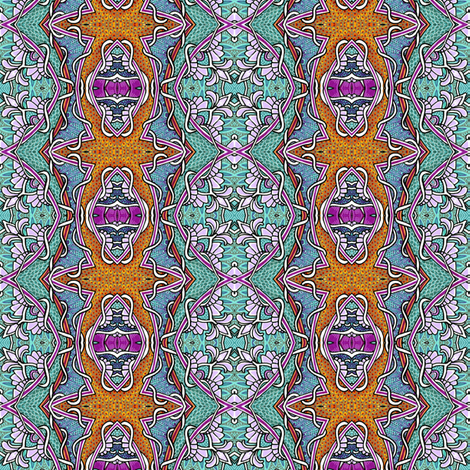 The Wall in the Hall fabric by edsel2084 on Spoonflower - custom fabric