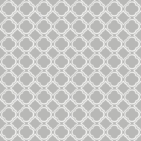 Trellis Mist fabric by lulabelle on Spoonflower - custom fabric