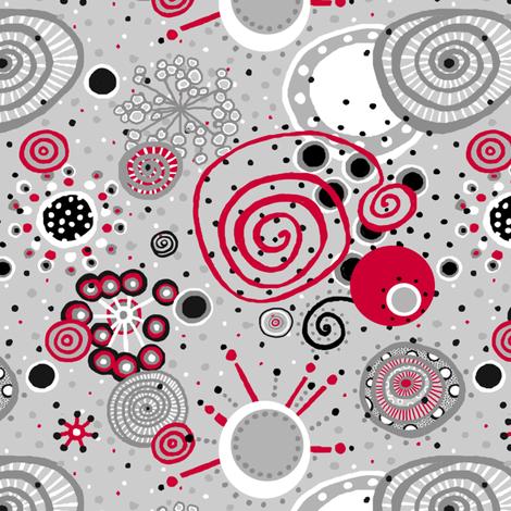 Happy Dance_7X7inch_MEDIUM fabric by tallulahdahling on Spoonflower - custom fabric