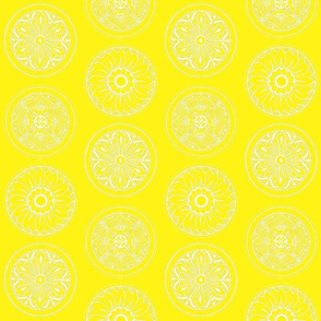Medallions Yellow