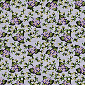 Floralsky - Linen