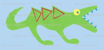 crocosaur raar