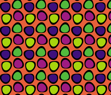Funky Dots 4 fabric by animotaxis on Spoonflower - custom fabric