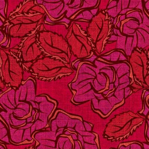 50s Floral - Las Vegas Showgirls