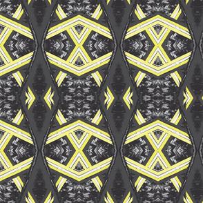 Arabian Canopy Lemon Charcoal