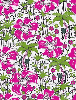 Jungle Monkey pink