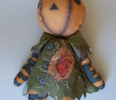 Jack and Jill-O-Lantern Dolls