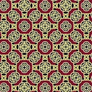Very small Chinese pattern